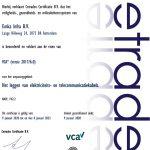 Emka Infra, Certificaat VCA1 2017-6.0, 20010902